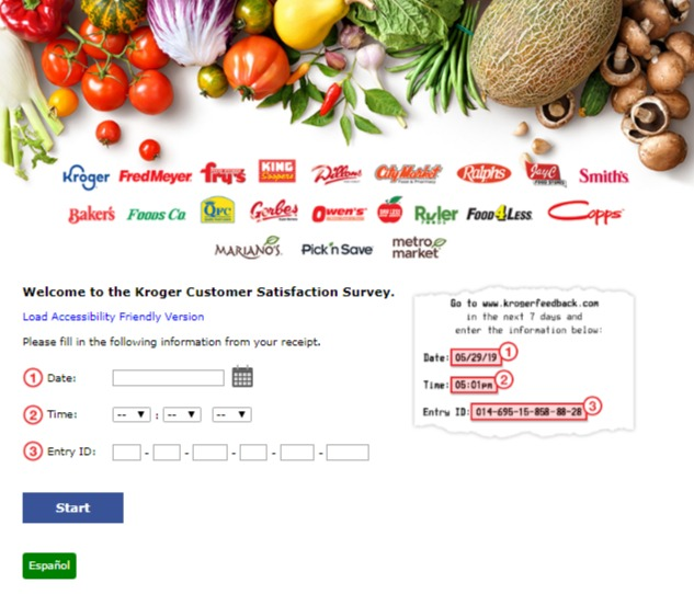 Kroger Customer Satisfaction Survey Image